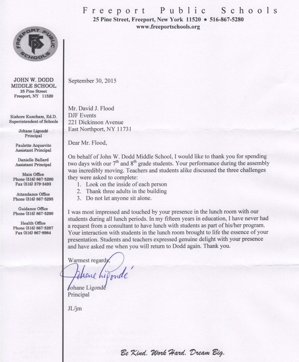 Freeport Public School - John W Dodd Middle School - New York